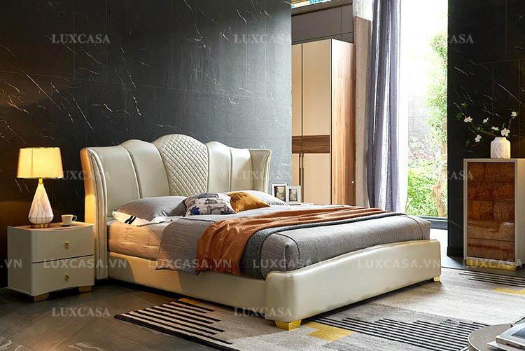 Mua giường ngủ đôi, giường da, vải nỉ ở đâu tốt?