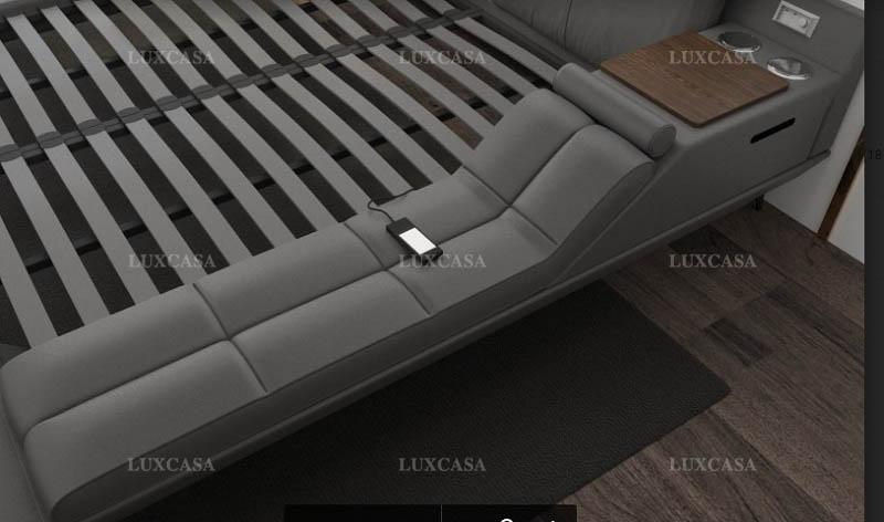 Thiết kế cấu tạo khung giường chắc chắn