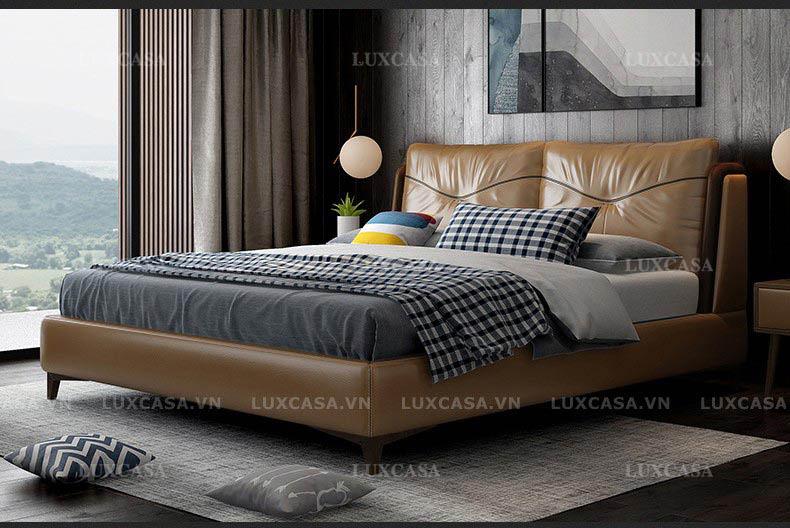 Các mẫu giường ngủ đang giảm giá tại showroom Luxcasa