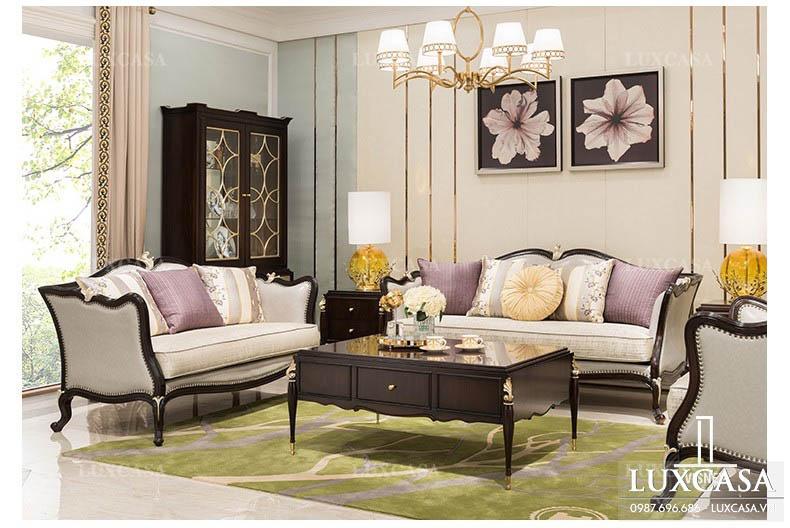 Các vấn đề cần lưu ý khi mua sofa bộ, sô pha set biệt thự