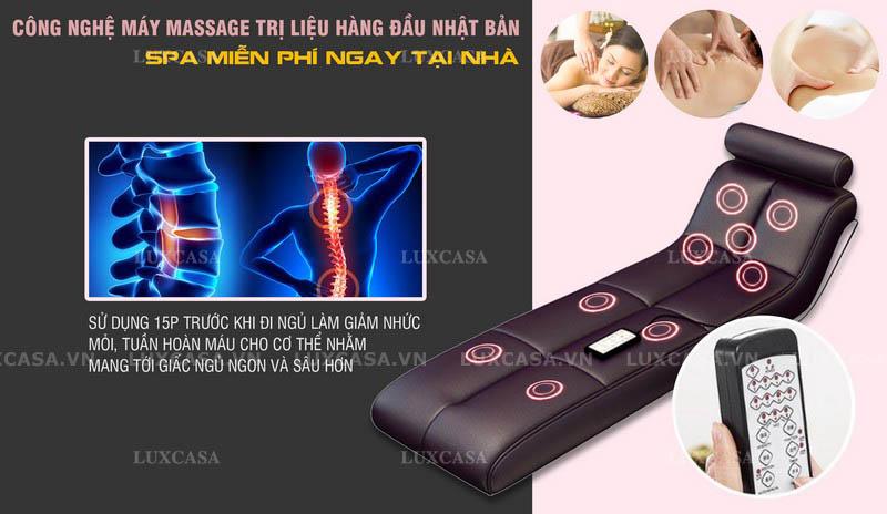 Giường ngủ thông minh massage hiện đại