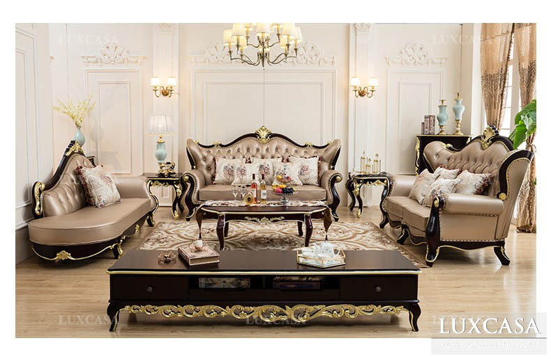 Lựa chọn ghế sofa da, sofa góc cho phòng khách nhỏ đến lớn