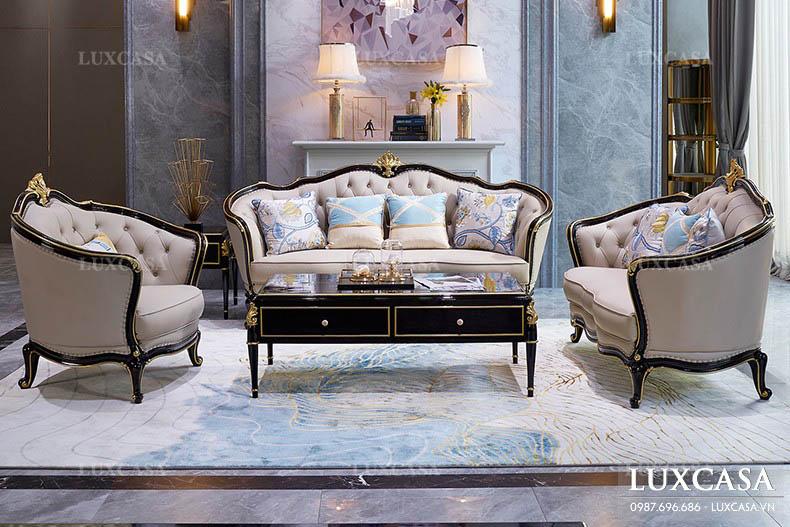 Nên lựa chọn ghế sofa da hay sopha vải nỉ cho phòng khách?