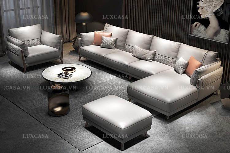 Bộ sofa da bóng