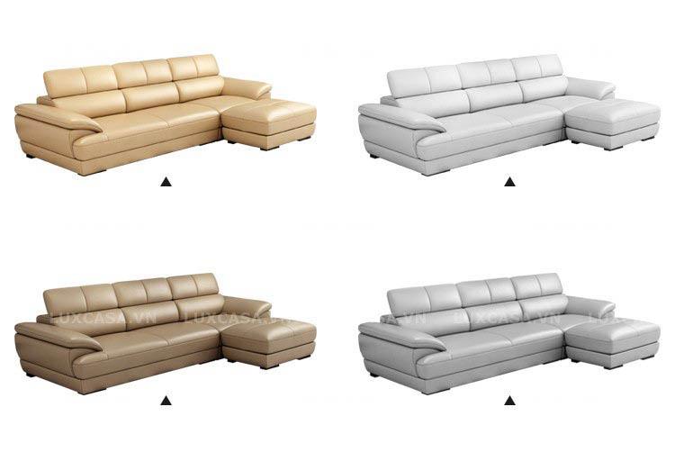 Chọn màu ghế sofa da công nghiệp