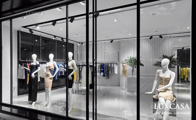 Thiết kế showroom thời trang ấn tượng, bắt mắt