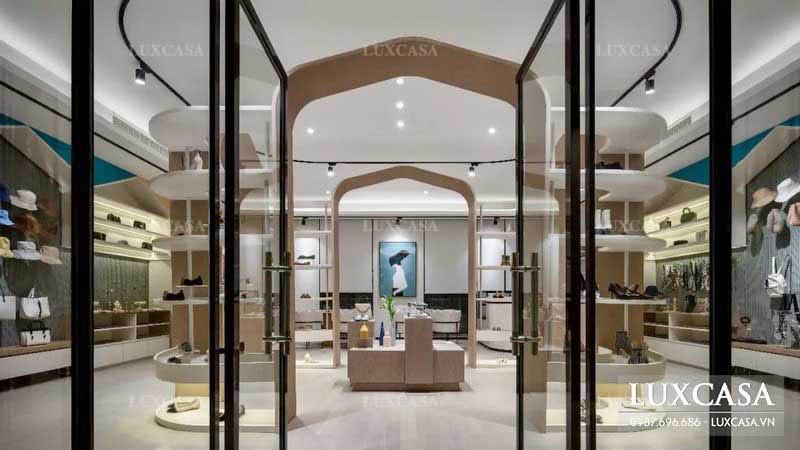 Thiết kế cửa hàng phụ kiện thời trang sáng tạo ở Hà Nội