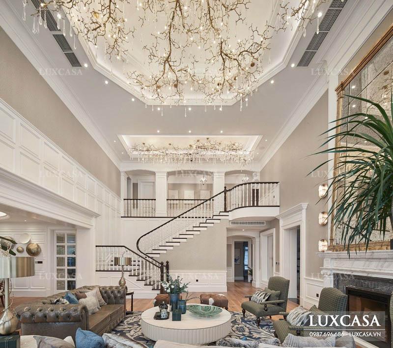 Thiết kế nội thất biệt thự hợp phong thủy tuổi mệnh