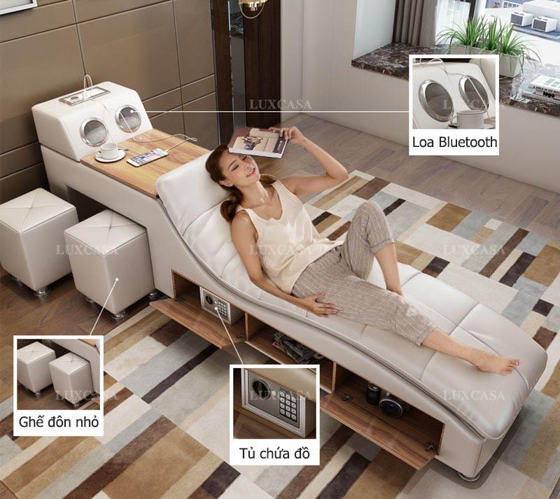Công năng giường đa tiện ích