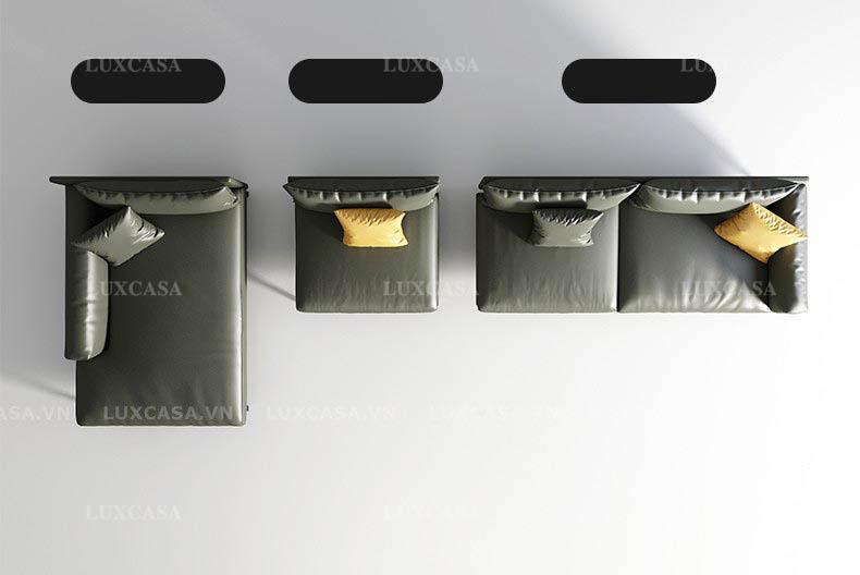 Các mẫu sofa da, sofa bọc vải, sofa góc giảm giá lớn tại Luxcasa