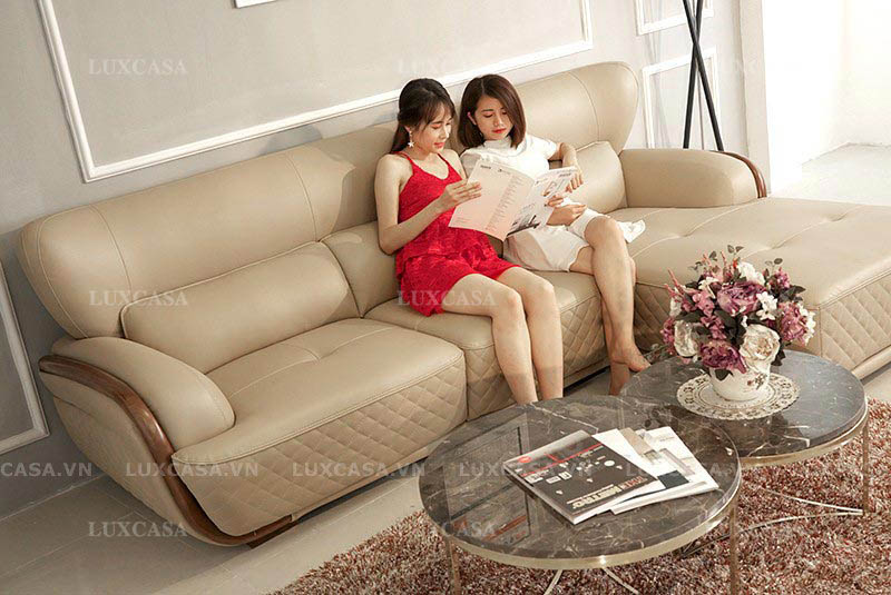 Ghế sofa da thoải mái