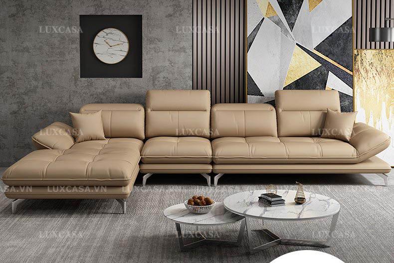 Ghế sofa giường nằm bọc da SD144