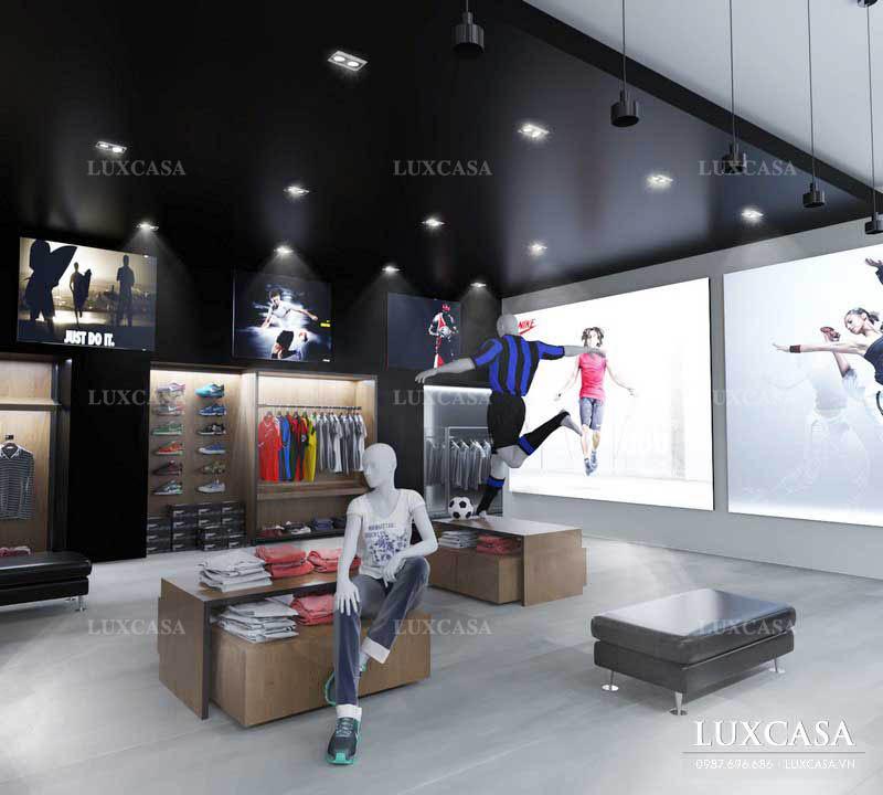 Ý tưởng thiết kế nội thất shop cửa hàng theo diện tích