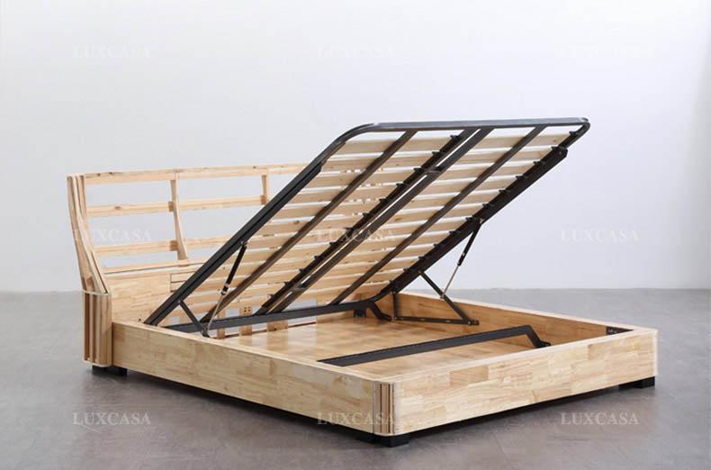 Kết cấu khung giường cao cấp Luxcasa