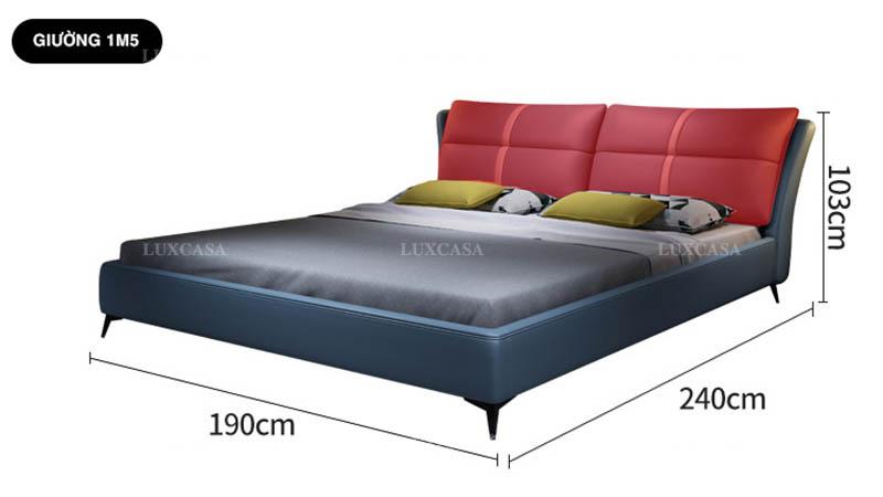 Mẫu giường châu Âu phòng ngủ nhỏ