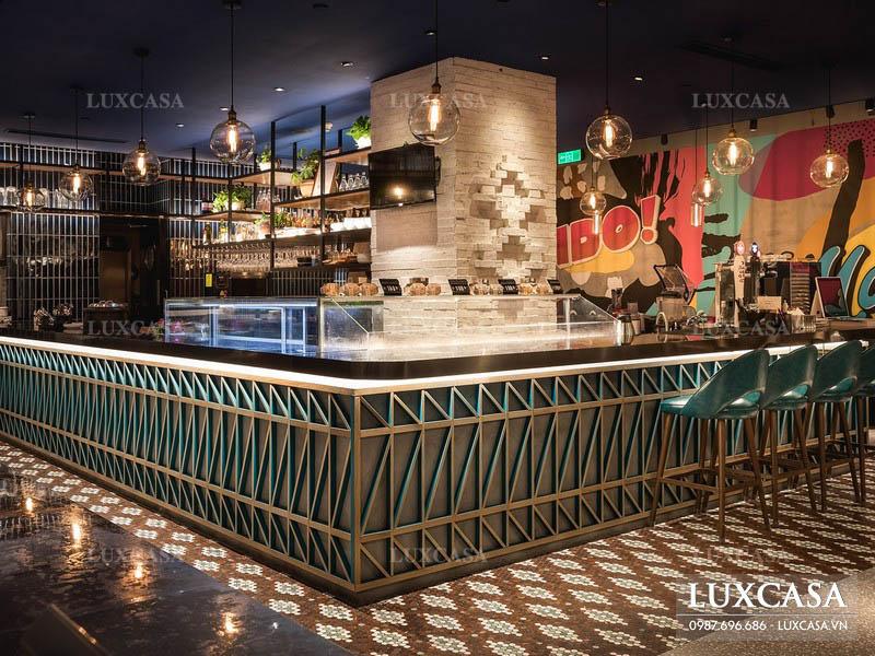 Xu hướng phong cách thiết kế nội thất nhà hàng mới