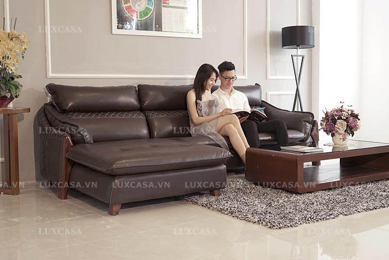 Mẹo chọn sofa da chất liệu nhập khẩu