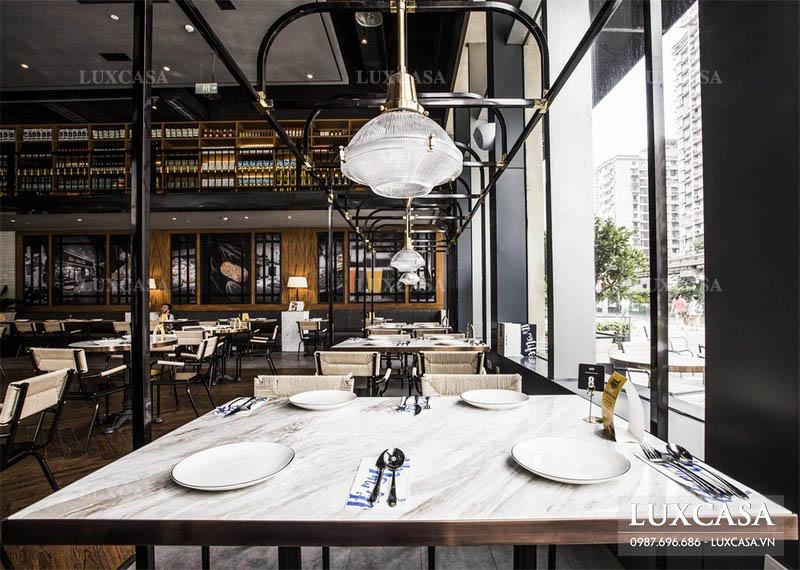 Quy trình thiết kế nội thất nhà hàng