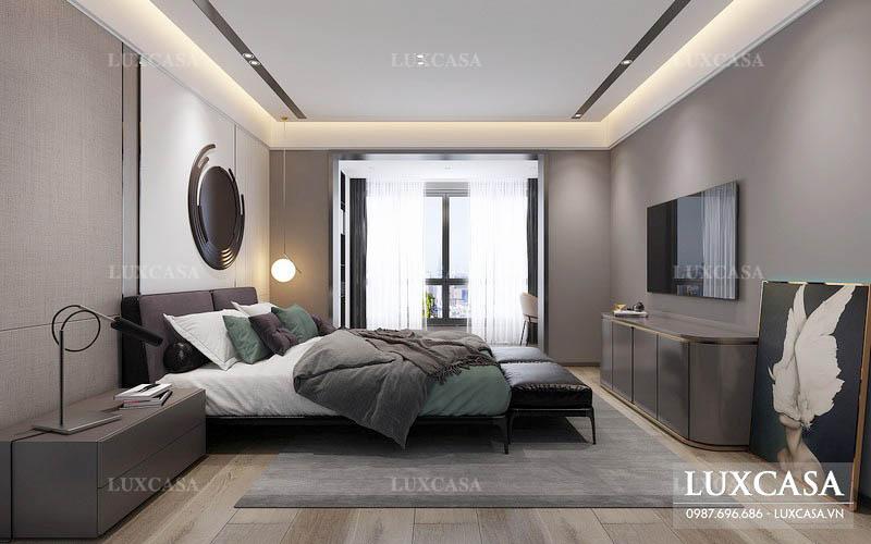 Thiết kế phòng ngủ cá tính giản lược tối đa