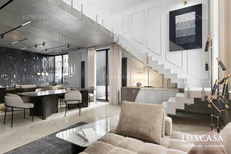 Bảng giá thiết kế thi công nội thất biệt thự mới nhất