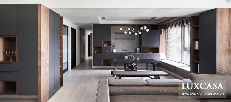 Bảng giá thiết kế thi công nội thất cập nhật mới nhất tại Luxcasa
