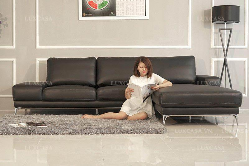 Sofa phủ da hiện đại