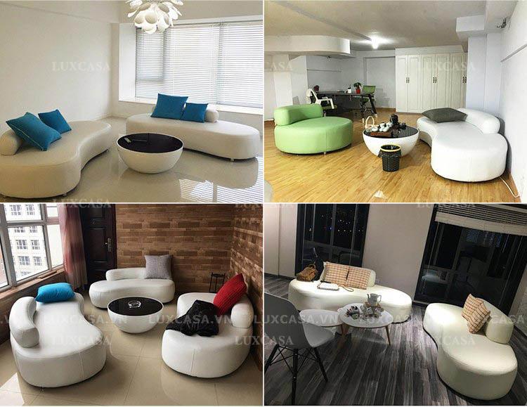 sofa tiếp khách công ty đẹp