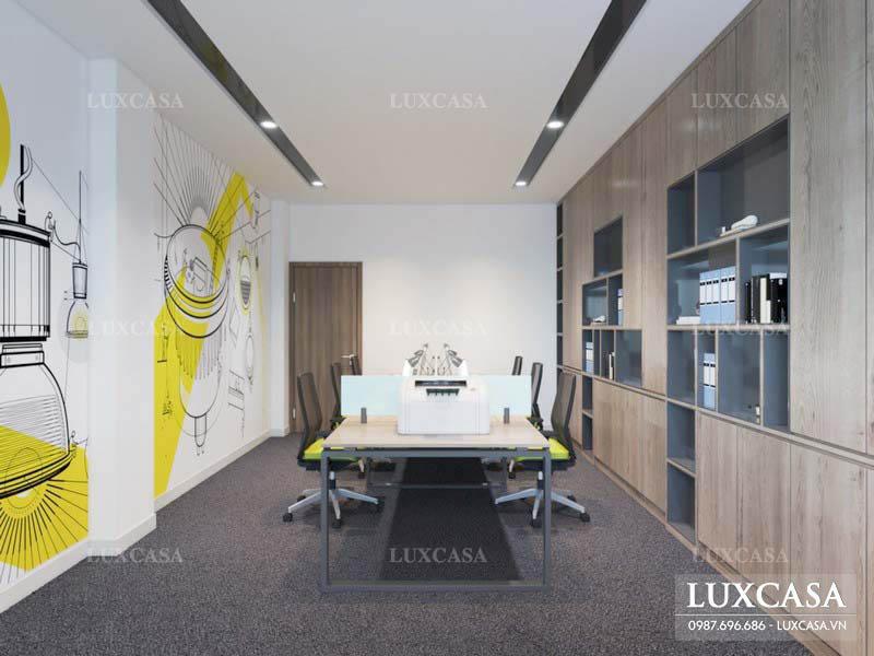 Tư vấn thiết kế nội thất văn phòng nhỏ đẹp tối ưu