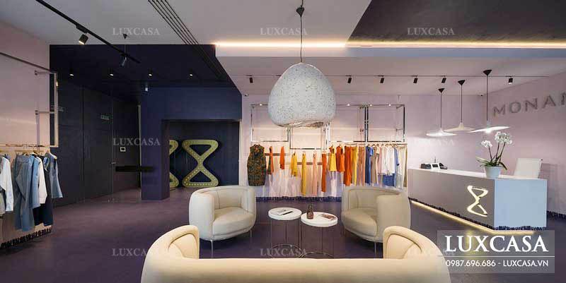 Quy trình các bước thiết kế thi công nội thất shop showroom trọn gói