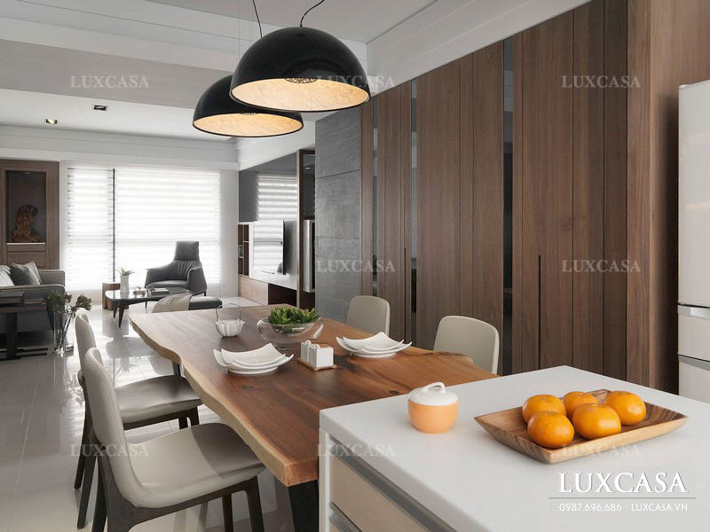Lựa chọn vật liệu thi công nội thất chung cư xu hướng mới
