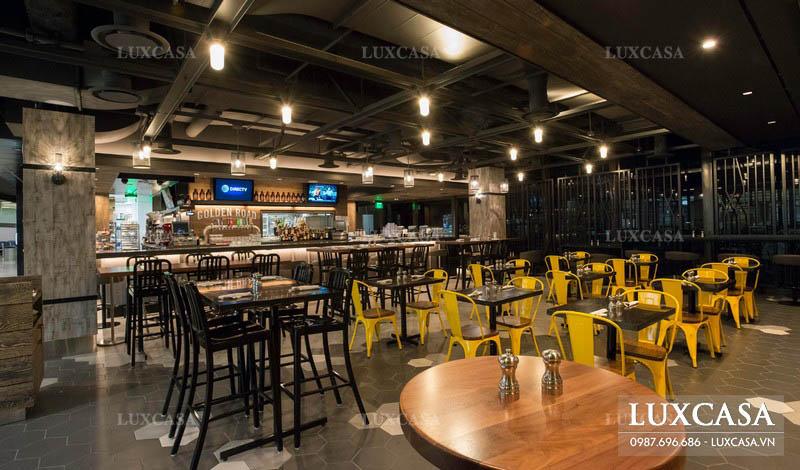 Đơn giá thi công nội thất nhà hàng cao cấp trọn gói