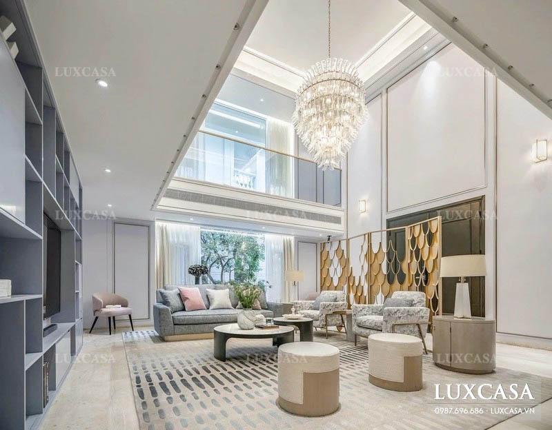 Phong cách thiết kế thi công nội thất biệt thự