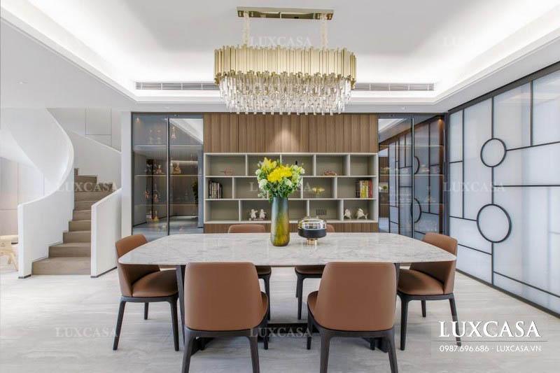 Thiết kế nội thất căn hộ duplex cao cấp
