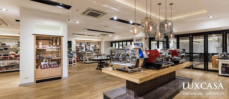 Đơn giá thiết kế showroom theo diện tích