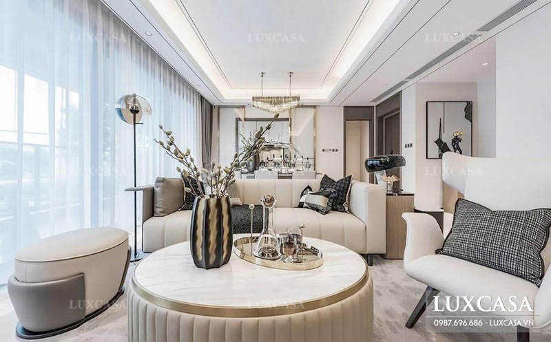 99+ mẫu bàn ghế phòng khách chung cư đẹp sang trọng