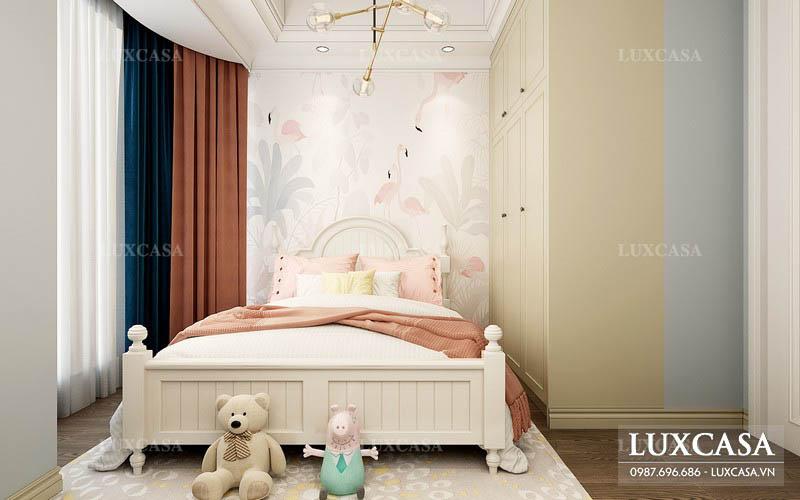 Thiết kế phòng ngủ trẻ em sáng tạo