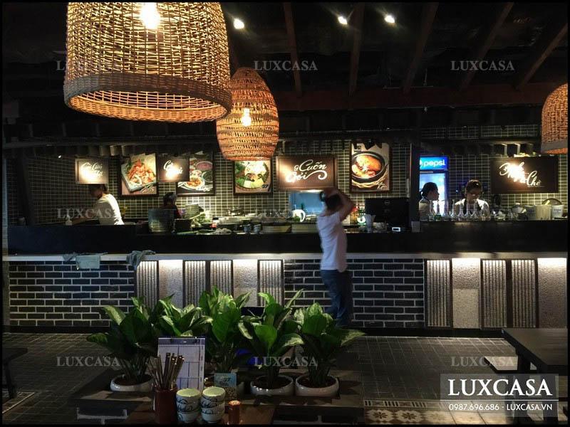 Cách cải tạo trang trí nội thất nhà hàng hút khách