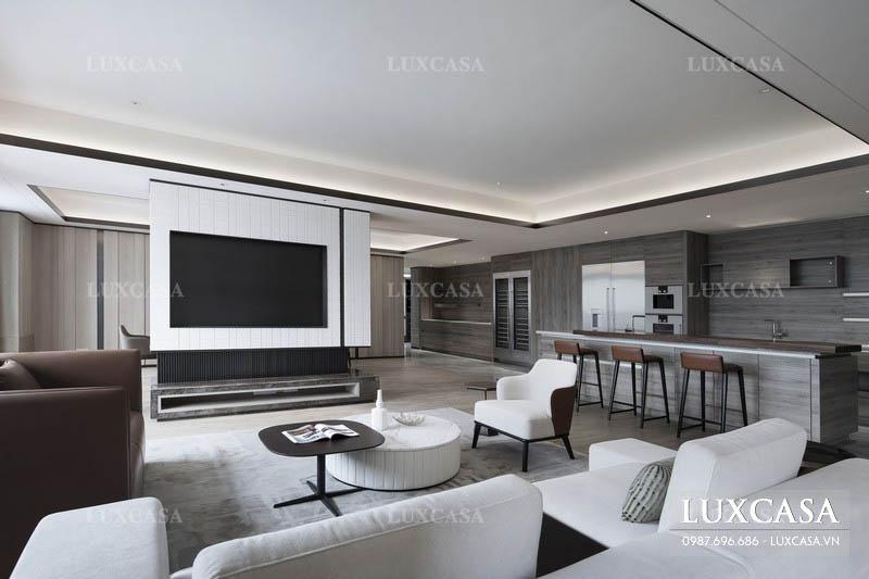 Thiết kế chung cư duplex phong cách mở