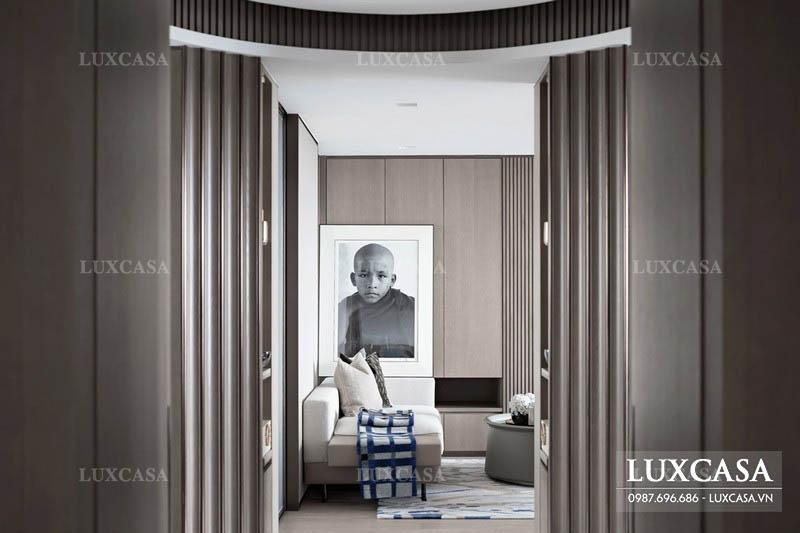 Trang trí thiết kế nội thất căn hộ penthouse