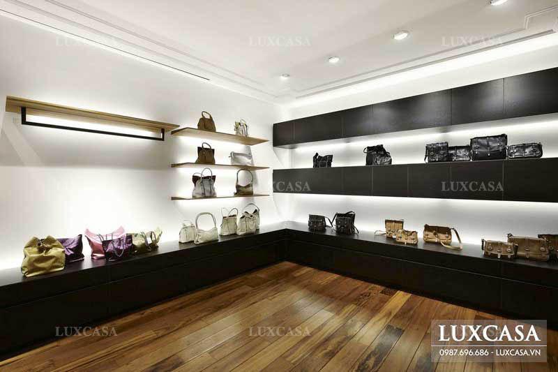 Tổng hợp các mẫu thiết kế showroom shop thời trang, giày dép đẹp mới nhất