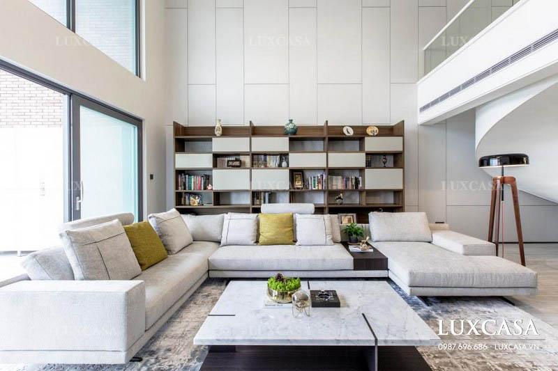 Vật liệu thiết kế nội thất căn hộ duplex